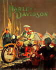 POSTER HARLEY DAVIDSON MOTORCYCLE RIDE IN HOLLAND TRAVEL VINTAGE REPRO FREE S/H $13.95 USD on eBay