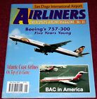 Airliners 81 BAC 1-11,Boeing 757,Atlantic Coast Airlines,San Diego Airport