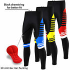 FDX Mens Blaze Cycling Tights Gel Padded Thermal Pants Cold Wear Bike Leggings