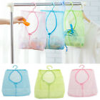 Kitchen Storage Bathroom Hanging Clothespin Hanging Mesh Bag Hook Organizer