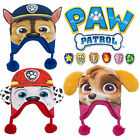 New Paw Patrol 3D Face Novelty Boys Girls Beanie Bobble Winter Hat / Ear Warmers