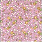 Blue Hill ToyBox II 30's Repro 7308-6 Pink Quilt Fabric By the 1/2 or Yard