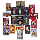 Retro Coffee Beer Mine Tin Sign Wall Decor Metal Bar Pub Poster Home Tavern Shop