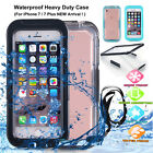 Waterproof Dirt Shockproof Protective Case Full Cover For iPhone 7 5C SE 6S Plus