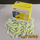 3M Ear Plugs E-A-Rsoft Noise Reduction 33dB Yellow Neon Foam One Use PICKSIZE