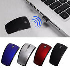 2.4G Snap-in Transceiver Fold Wireless Mouse Cordless Mice USB Folding
