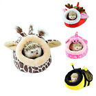 Hammock Hamster Hedgehog Squirrel House Small Animal Bed Nest With Pad For Cage