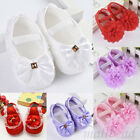 Newborn Infants Baby Girl Soft Crib Shoes Moccasin Prewalker Sole Shoes 0-18M
