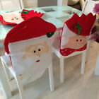 HIG Mrs Santa Claus Christmas  Banquet Chair Back Cover Xmas Party Home Decor
