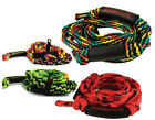Straight Line Knotted Wakesurf Rope, 4 Section Various colours. 46370