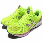 New Balance WPRSMHT D Wide Yellow Purple  Womens Running Shoes Sneakers WPRSMHTD