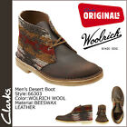 CLARKS ORIGINALS Men's DESERT BOOT Brown Combo(Wolish Wool)BEESWAX Leathe 66303