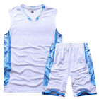 Men's Basketball Suit Summer Student Training Vest DIY Printing Number
