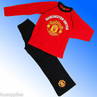 Boys Authentic Official Manchester United FC  Football Pyjamas Age 4 - 12 Years