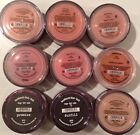 Bare Minerals Blush Face Color Various Colors YOU SELECT Full Size Blush Jars