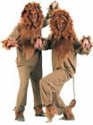 Cowardly Lion Adult Jumpsuit Halloween Costume