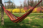 Nylon Fabric Hammock New For Indoor Outdoor Use Portable Parachute Double Person
