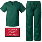 Kyпить MedGear Men's Scrubs Set Multi-Pocket Top & Pants, Medical Uniform 7890 на еВаy.соm