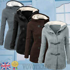 Womens Ladies Hooded Jacket Winter Windbreaker Outwear Warm Slim Long Coat