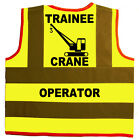 Baby/Chilren/Kids Hi Vis Safety Jacket/Vest Trainee Crane Operator Size 0-8Years