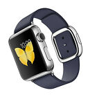 Apple Watch - 38MM - Stainless Steel Watch with Leather Bands