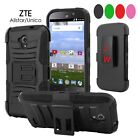 For ZTE Stratos Allstar LTE Z819C Z819L Z818L Side Stand Holster Cover Case