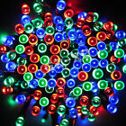 50+100+200+LED+Solar+Powered+Fairy+String+Lights+Garden+Party+Christmas+Outdoor