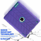 Shockproof Heavy Duty Rubber Hard Case For iPad 2/3/4 Mini 1/2/3/Air 1 2/Pro 9.7