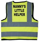 Baby/Chilren/Kids Hi Vis Safety Jacket/Vest Nanny's Little Helper Size 0-8Years