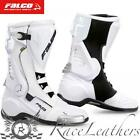 FALCO ESO LX WHITE MOTORCYCLE SPORTS BOOTS CHEAP SALE CLEARANCE RRP 199.99