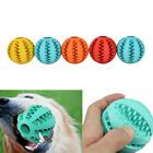 Rubber Ball Chew Treat Cleaning Pet Puppy Cat Toy Training Dental Teething