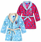 Girls Disney Frozen Dressing Gown New Kids Anna Elsa Bathrobes Ages 4-8 Years