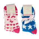 41B399- Ladies Multi Pack Cosy Socks 2 Designs- Great Price!