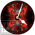 S-810 CD CLOCK-SPIDERMAN TWO SPIDER IMAGE-NOT BATMAN OR SUPERMAN GREAT GIFT