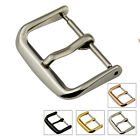 12 14 16 18 20 22mm New Polished Stainless Steel Pin Buckle Genuine Watch Part