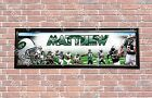 Personalized Customized NY New York Jets Name Poster Sport Banner with Frame $35.0 USD on eBay