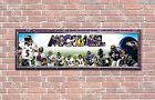 Personalized Customized Baltimore Ravens Name Poster Sport Banner with Frame $35.0 USD on eBay