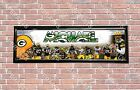 Personalized Customized Green Bay Packers #2 Name Poster Sport Banner with Frame $37.0 USD on eBay