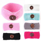 Kids Baby Girls Toddler Knit Turban Hair Band Headwear Headband Accessories JR