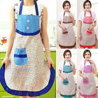 Womens Cute Kitchen Bib Ladies Cooking Apron With Pocket BBQ Aprons