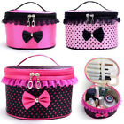 Women Lovely Makeup Storage Bag Organizer Jewelry Box Travel Small Cosmetic Case