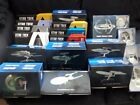 Star Trek Eaglemoss Specials & Plaques ISS Enterprise J TOS NX Jellyfish DS9 E