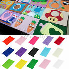 Handcraft Felt Fabric 20 x 30cm DIY Sewing Sheet Scrapbook Party Kids Toys Decor