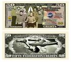 Limited Edition Star Trek 50th Anniversary Dollar Bill 1 5 10 15 20 25 30 35 40