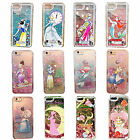 Cartoon Pretty Princess Glitter Quicksand Bling Stars Hard Case Cover For iPhone