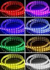 LED RGB Colour Changing Effects Strip Light Flat Rope Light Plug&Play Waterproof