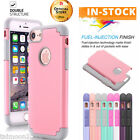 Shockproof Hybrid Rugged Rubber Protective Slim Hard Case Cover For iPhone 7 /6