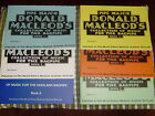 P/M Donald MacLeod collection choice of books 1 to 6 for bagpiping, piping
