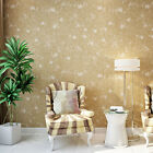 10M  Wall Paper Fashion Non-woven Flocking Rolls For Living Room