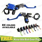 Universal CNC Front Brake Clutch Master Cylinder Reservoir Cable Perch Levers